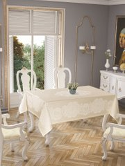 Скатерть Tropic home Pano lace 150*220 - Royal cream