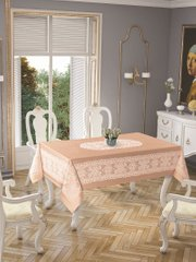 Скатерть Tropic home Pano lace 150*220 - Priencly cappuchino