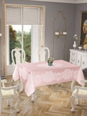 Скатерть Tropic home Pano lace 150*220 - Royal pink