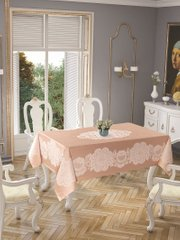Скатерть Tropic home Pano lace 150*220 - Royal cappuchino